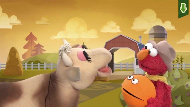 Sesame Street Touch & Learn TV screen shot 2