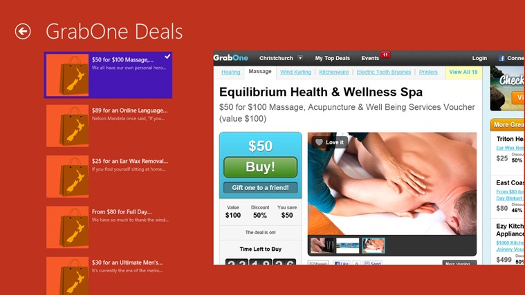 DailyDeals NZ screen shot 2
