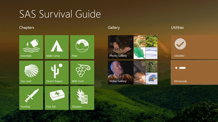 SAS Survival Guide screen shot 0