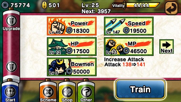 Samurai Defender screen shot 4