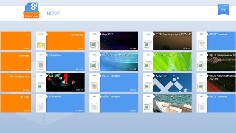 8FilesInABox - Dropbox client screen shot 0
