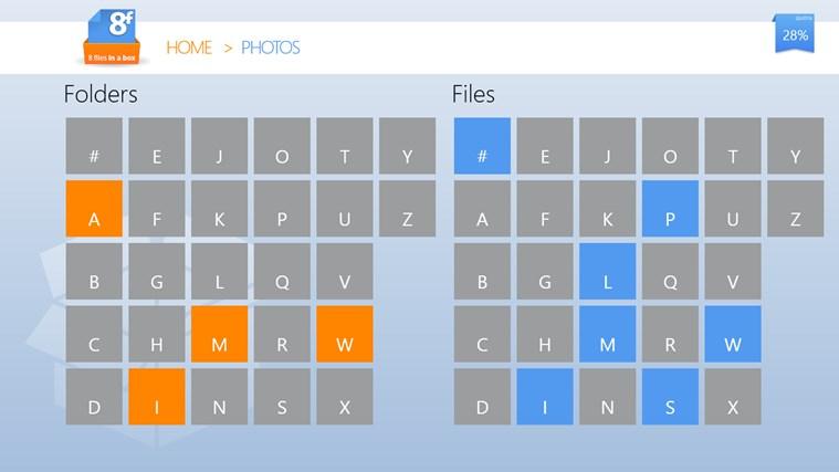 8FilesInABox - Dropbox client screen shot 4