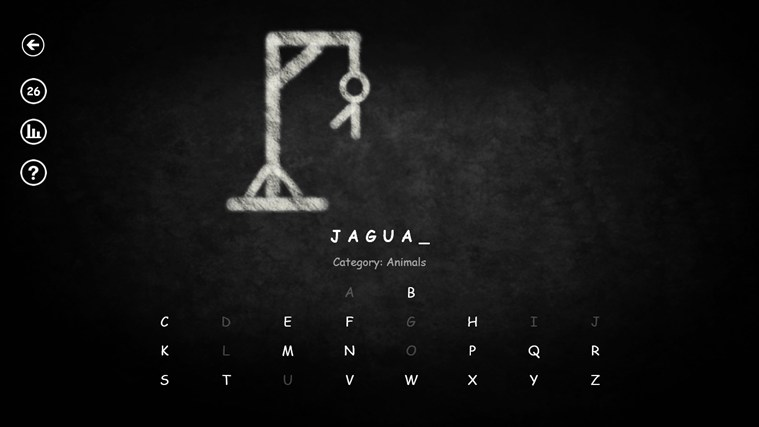 Hangman RT screen shot 2