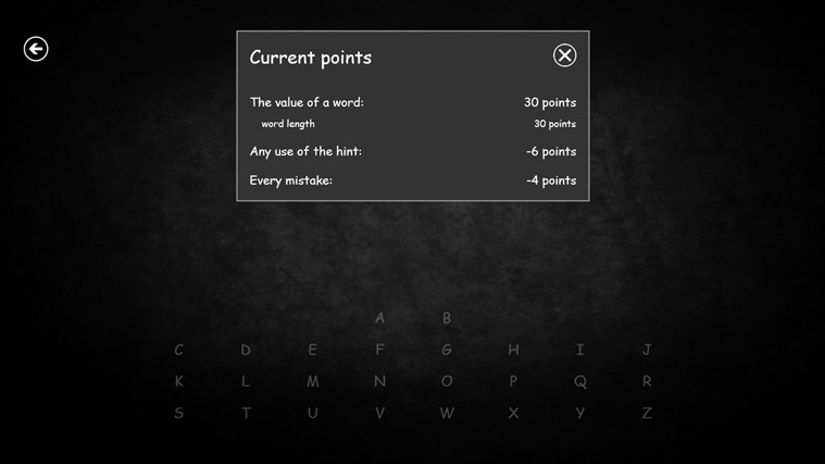 Hangman RT screen shot 4