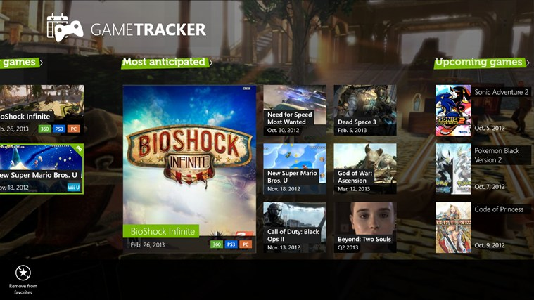 GameTracker screen shot 0