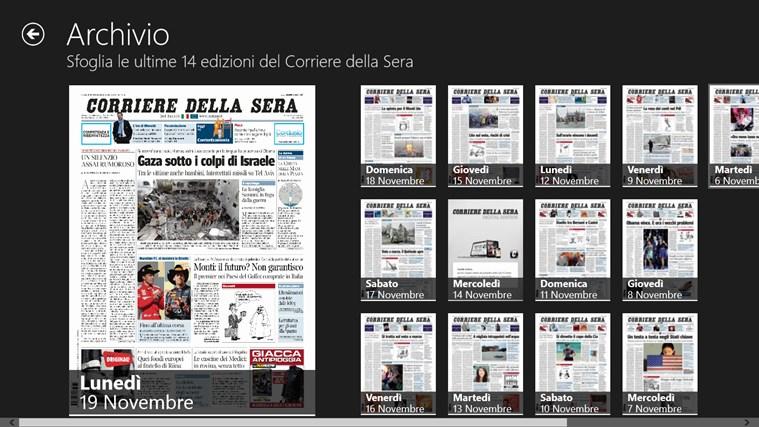 Corriere Della Sera - Digital Edition cattura di schermata 2