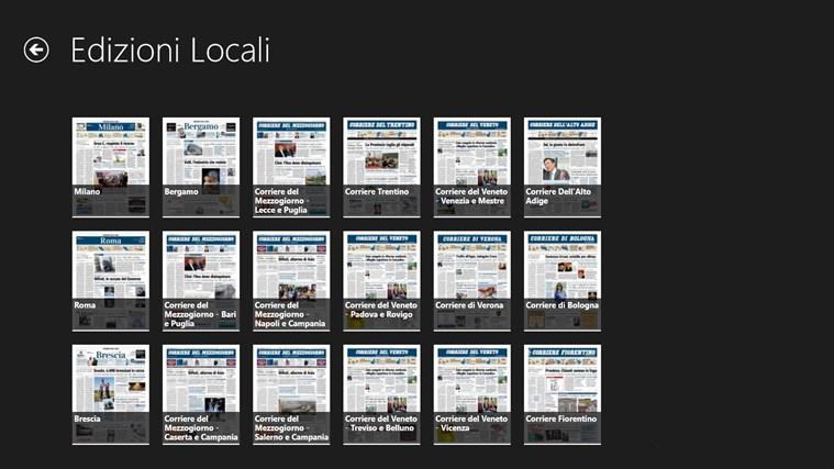 Corriere Della Sera - Digital Edition cattura di schermata 4