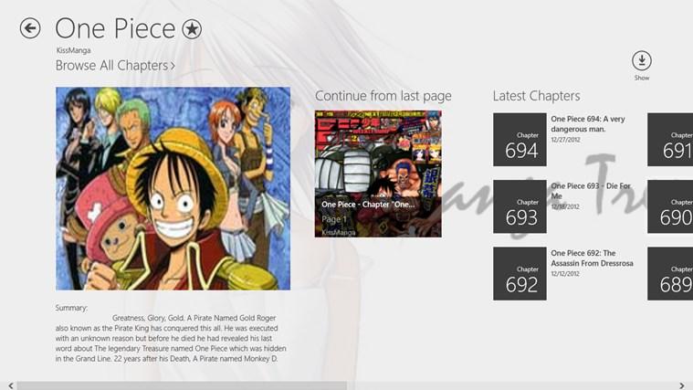 Manga Tree screen shot 2