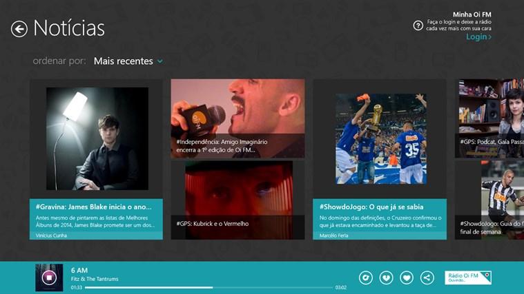 Oi FM captura de tela 2