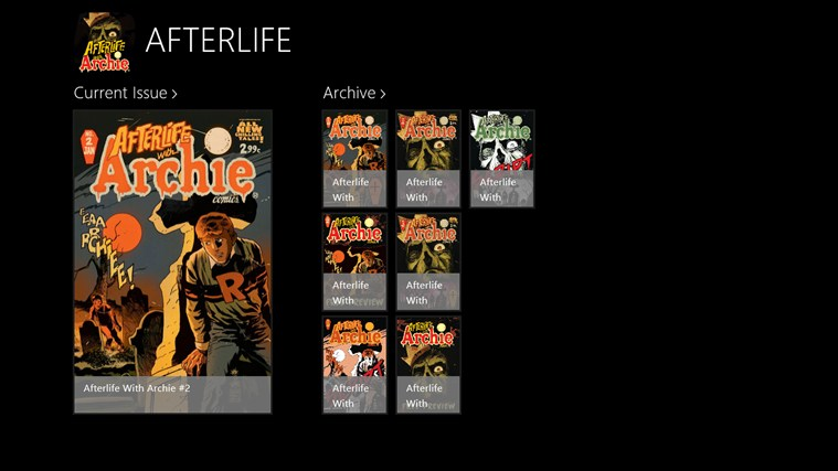 AFTERLIFE WITH ARCHIE screen shot 0