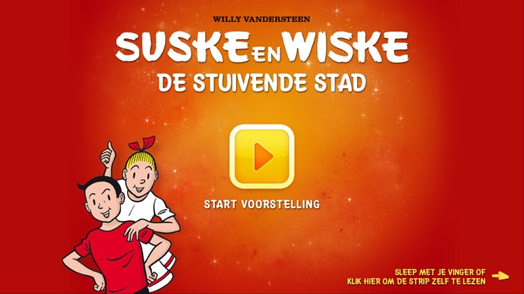 Suske en Wiske - De stuivende stad schermafbeelding 0