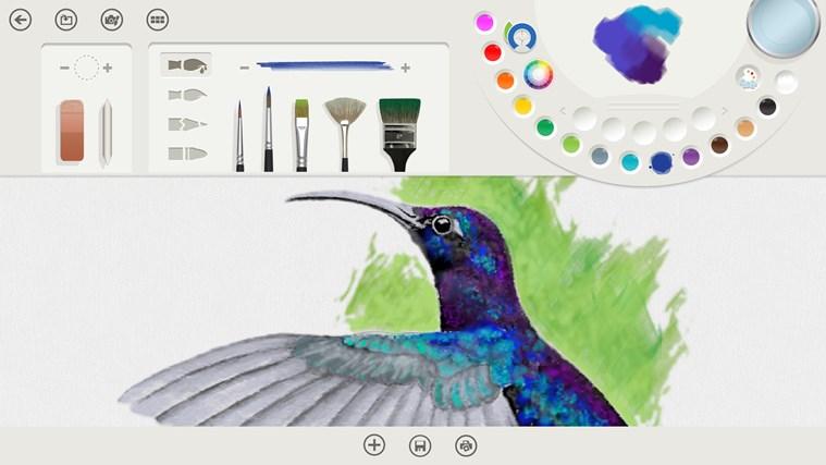 Fresh Paint capture d'écran 0