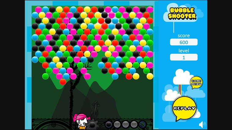 Bubble Shooter screen shot 0