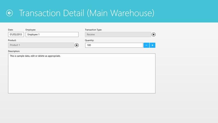 Simple Inventory Control screenshot 2
