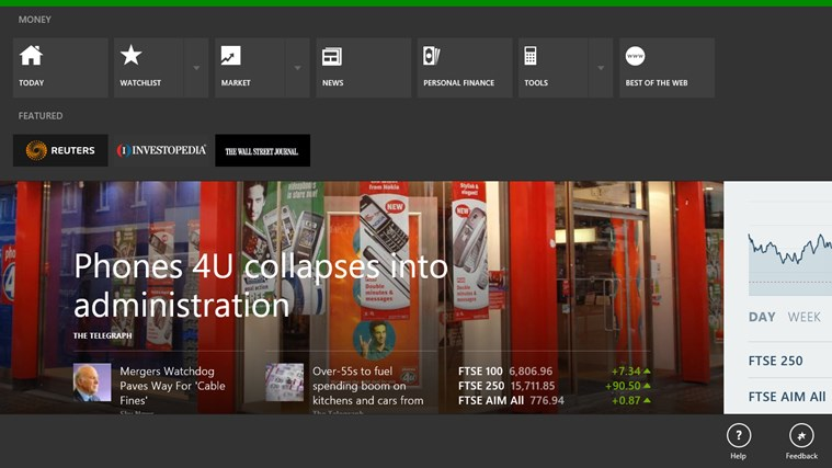 MSN Money screen shot 6