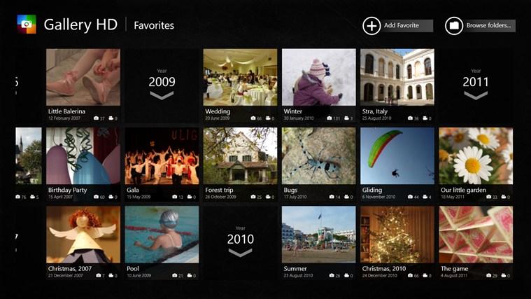 Gallery HD screen shot 4