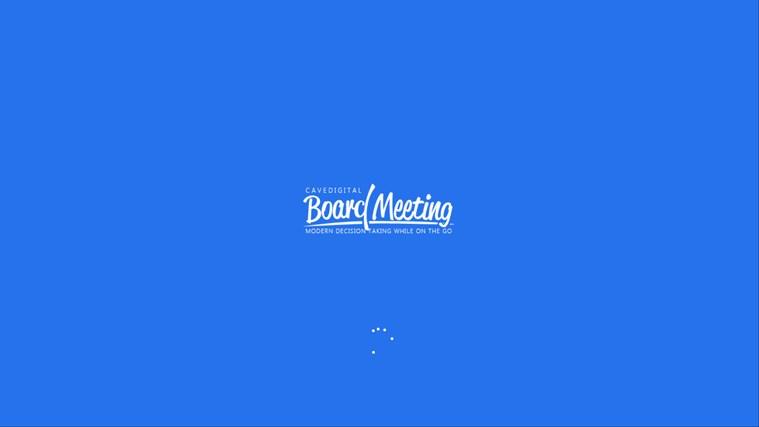 BOARD MEETING screen shot 0