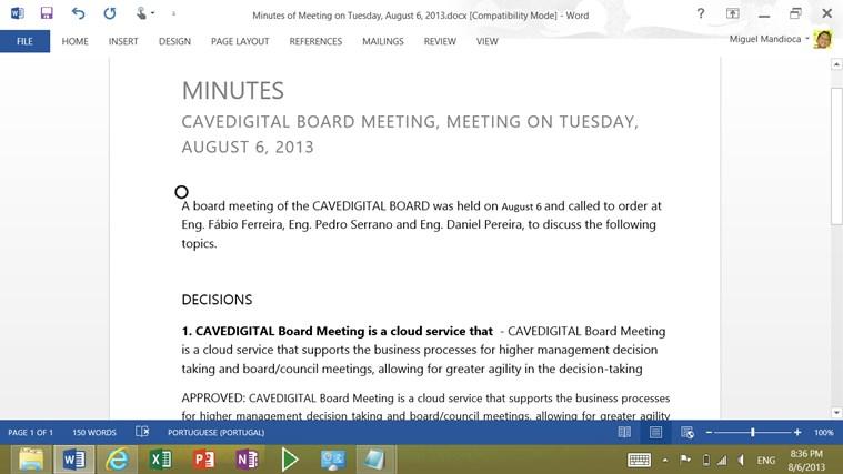 BOARD MEETING screen shot 8