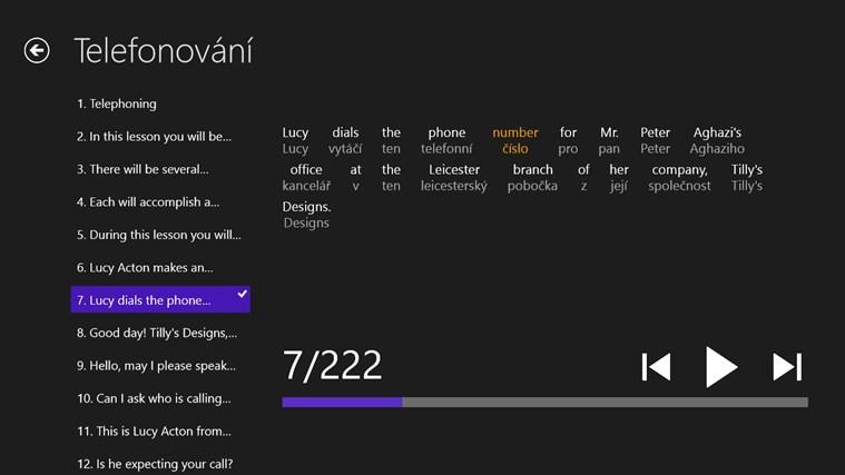 Angličtina Premium snímek obrazovky 6