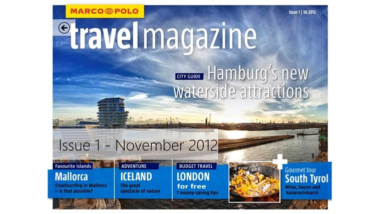 MARCO POLO travelmagazine  full