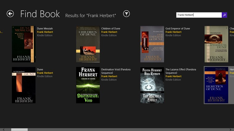 Bookqueue screen shot 2