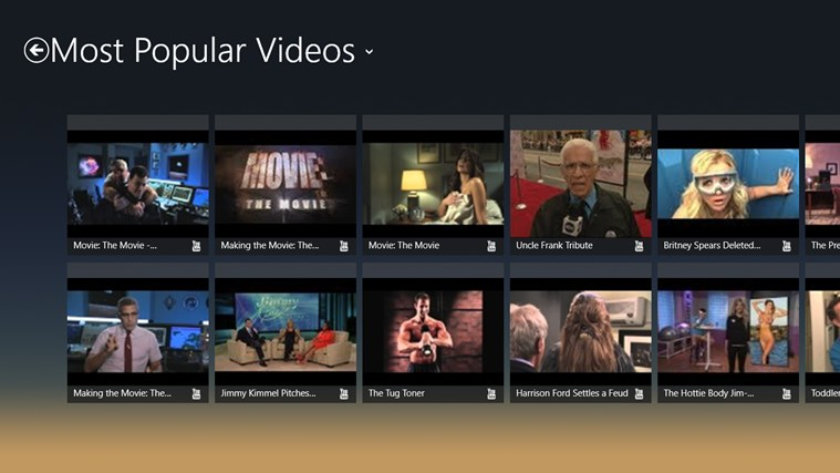 Jimmy Kimmel Live - The Official JKL App screen shot 2