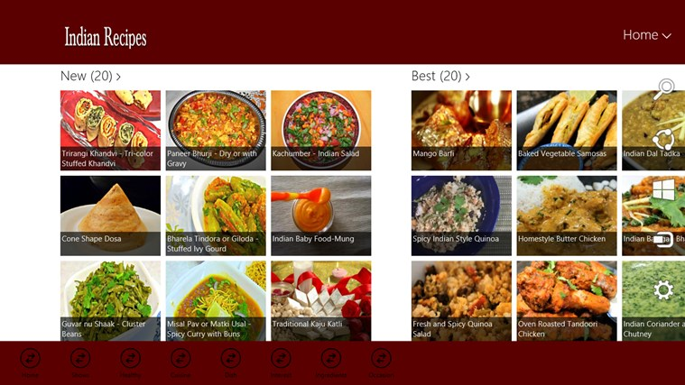 Indian Recipe Screenshot 2