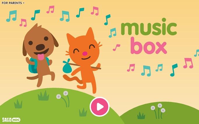 Sago Mini Music Box screen shot 0