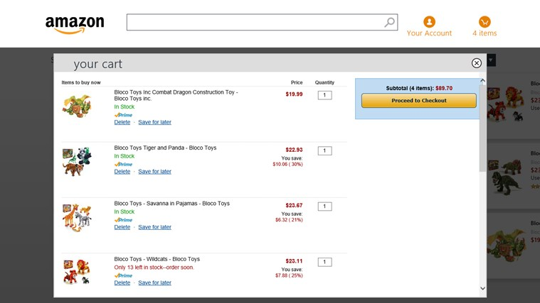 Amazon Screenshot 2