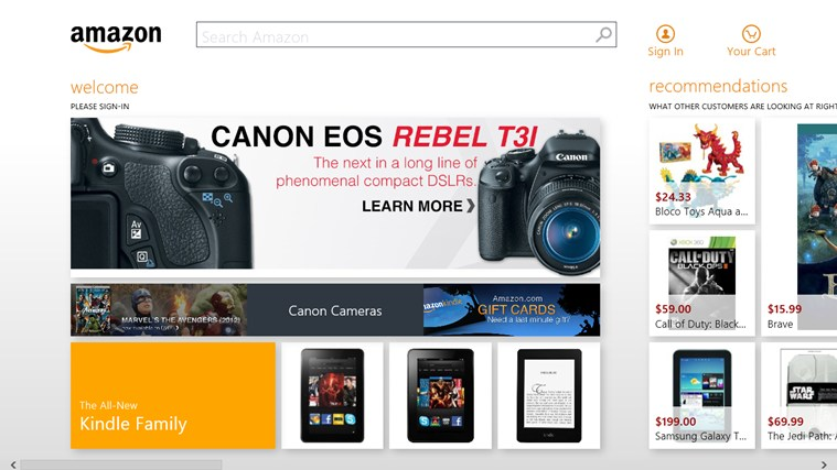 Amazon screen shot 4