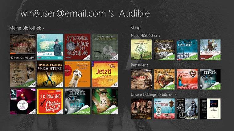Audible - Audiobooks and more Screenshot 2