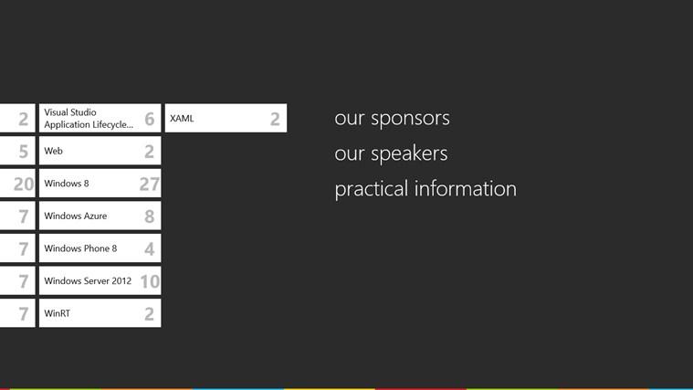 Microsoft TechDays Belux 2013 schermafbeelding 2