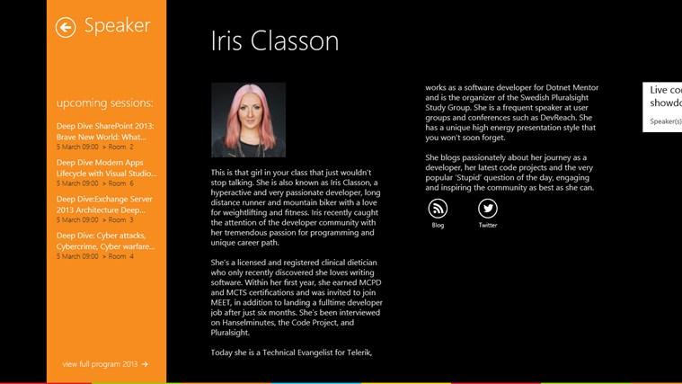 Microsoft TechDays Belux 2013 schermafbeelding 6