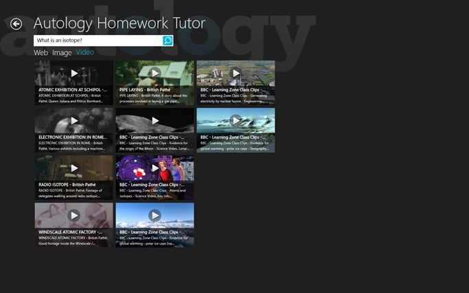 Autology - Homework Tutor screen shot 4