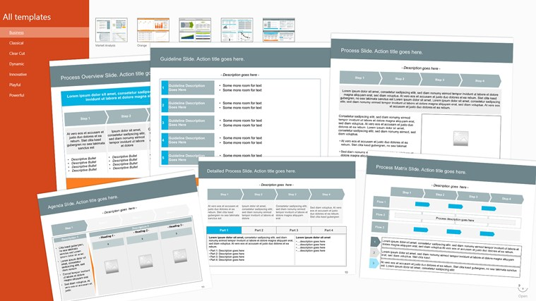 Templates for PowerPoint Pro zrzut ekranu 2