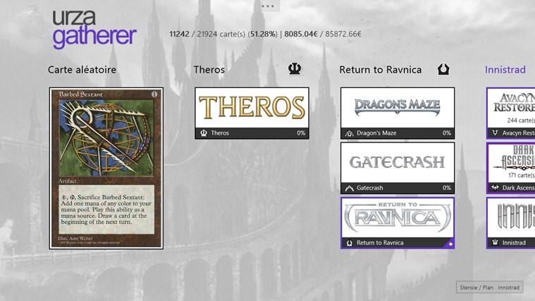 UrzaGatherer capture d'écran 0