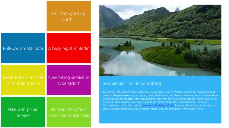 MARCO POLO travelmagazine screen shot 4