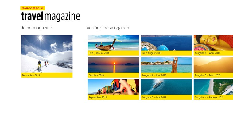 MARCO POLO travelmagazine Screenshot 4