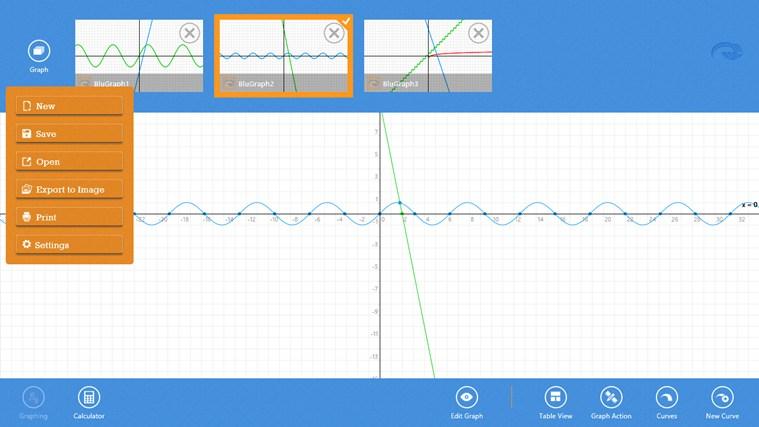 Blu Graphing Calculator screen shot 6