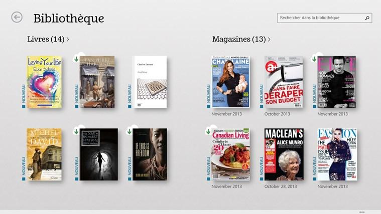 NOOK – Livres, magazines, journaux, BD capture d'écran 0
