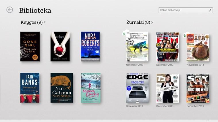NOOK – Knygos, žurnalai, laikraščiai, komiksai ekrano nuotrauka 0