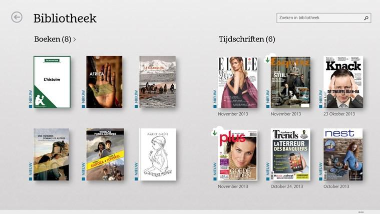 NOOK – Boeken, tijdschriften, kranten, stripboeken schermafbeelding 0