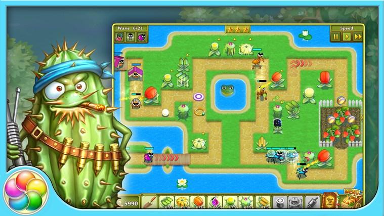 Garden rescue screen shot 0