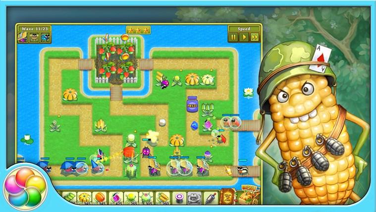 Garden rescue screen shot 2