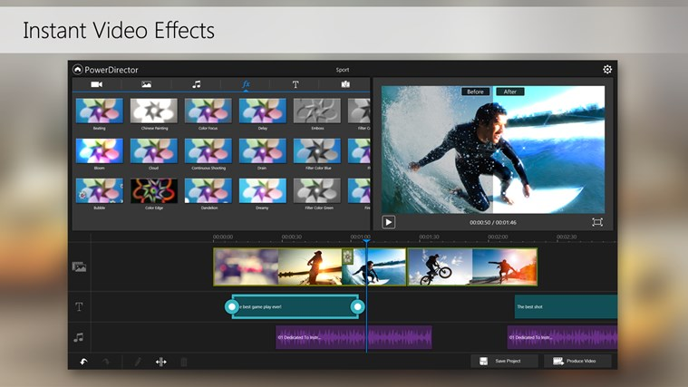PowerDirector Mobile Video Editor – Bundled screen shot 4