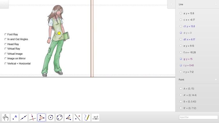 GeoGebra screen shot 4