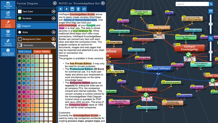 KnowledgeBase Builder screen shot 0