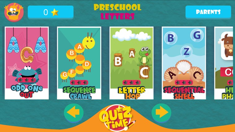 GS Kids! Preschool Letters screen shot 0