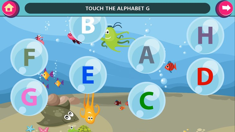 GS Kids! Preschool Letters screen shot 2