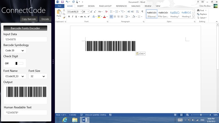 Barcode Software screenshot 2
